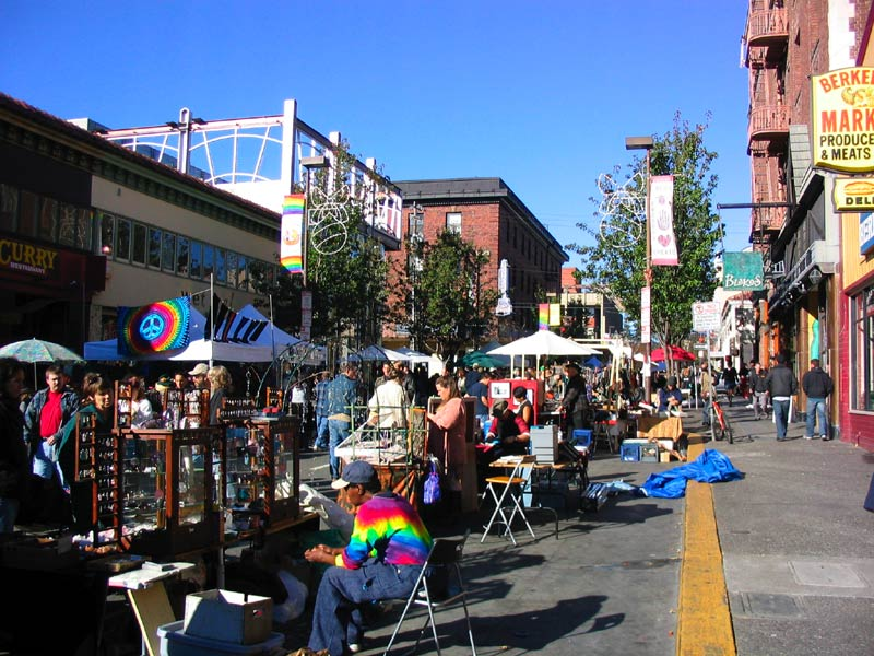 Telegraph Ave. Berkeley CA