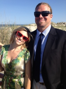 My brother Joe, and my common-law soon to be official sister-in-law, Mariah.